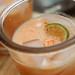 melon-nectarine agua fresca