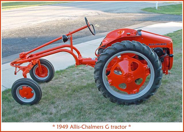 Allis Chalmers G Tractor : Allis chalmers g tractor flickr photo sharing