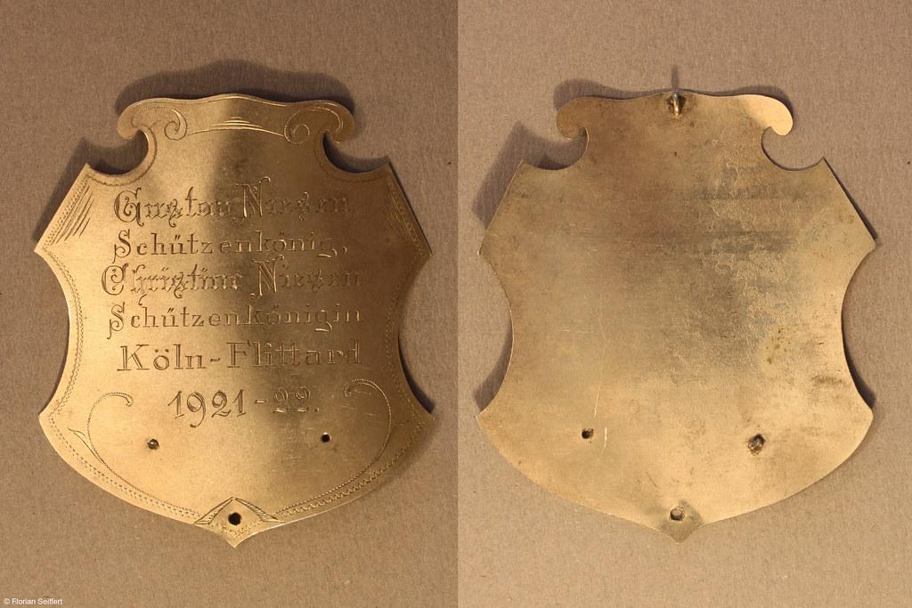 Koenigsschild Flittard von niesen gustav aus dem Jahr 1921