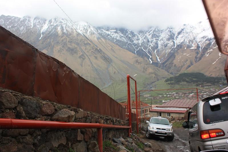 Гергети, Кавказ