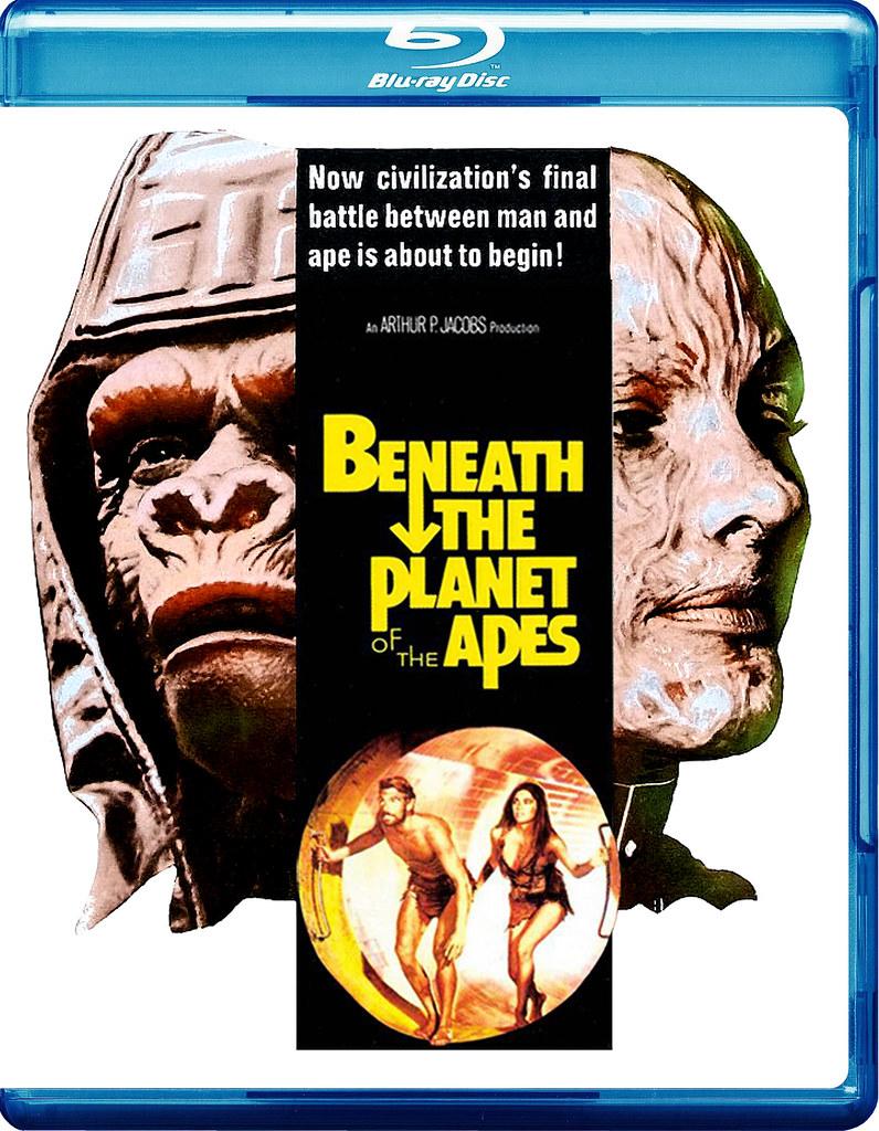 Bajo el Planeta de los Simios - 1970 [HD] [720p] [Sub]
