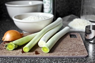 leeks, still gritty | by smitten kitchen