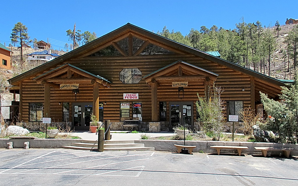 Summerhaven General Store Mt Lemmon I Went Hiking And