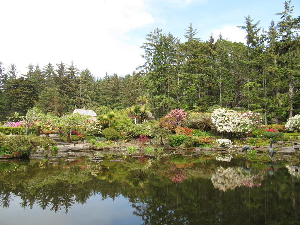 Gardens At Shore Acres State Park Oregon Gardens At
