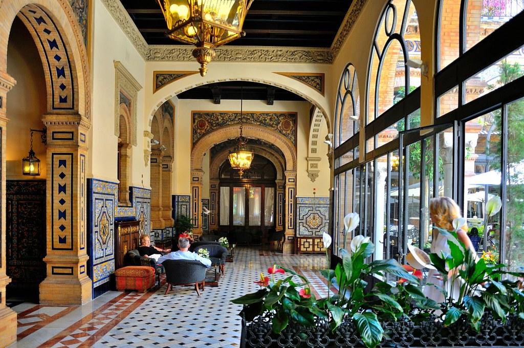 sevilla hotel alfonso xiii lounge 2 8 calle san. Black Bedroom Furniture Sets. Home Design Ideas
