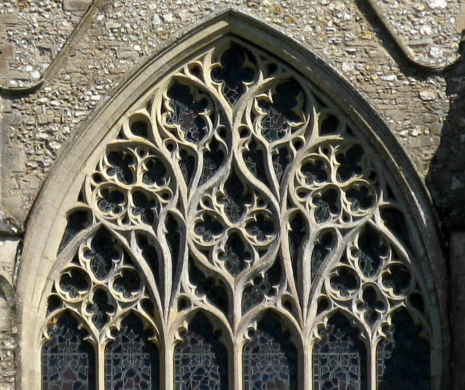 outstanding late decorated gothic window tracery the chur. Black Bedroom Furniture Sets. Home Design Ideas
