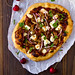 Cherry Barbecue Pizza with Pulled Pork and Goat Cheese