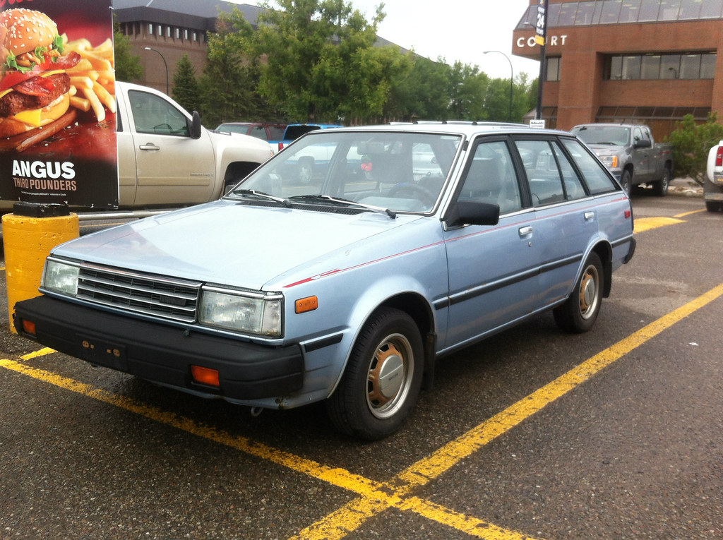 1985 Nissan Sentra Wagon B11 This Generation Of Nissan