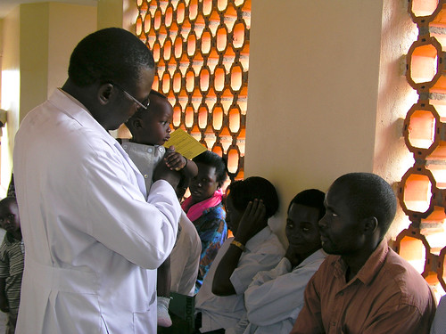 A doctor see patients | by World Bank Photo Collection