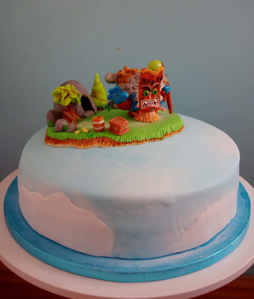 Skylanders Birthday Cake Kit