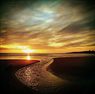 Embleton Burn empties into Embleton Bay, Northumberland | by Grangefirth