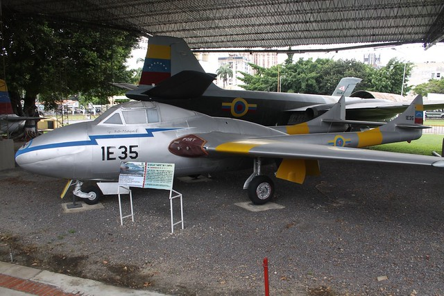 1E35 De Havilland DH-115 Vampire T55 Venezuela Airforce