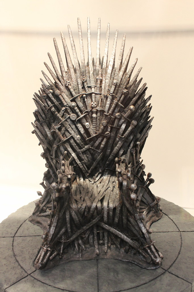 The Iron Throne Pat Loika Flickr