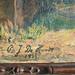 1932 P. J. De Hondt - farmhouse on path oil on canvas on panel - signature