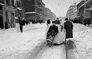 Danish Bicycle History - Bicycle Snowplow | by Mikael Colville-Andersen