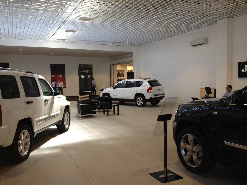 Motor Village Roma Il Nuovo Showroom Jeep Un Altro Scatt Flickr