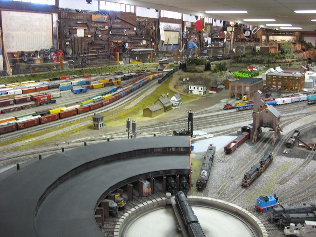 Medina Railroad Museum Ho Scale Model Train Layout 26