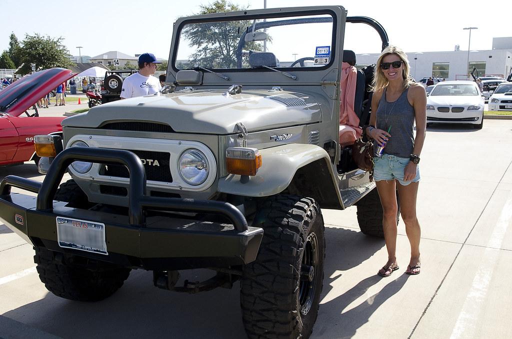 Toyota Land Cruiser BJ40 + Girl + Dog = Greatest