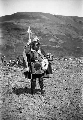 """The Viking"" at Armansfell, Thingvellir, Iceland 