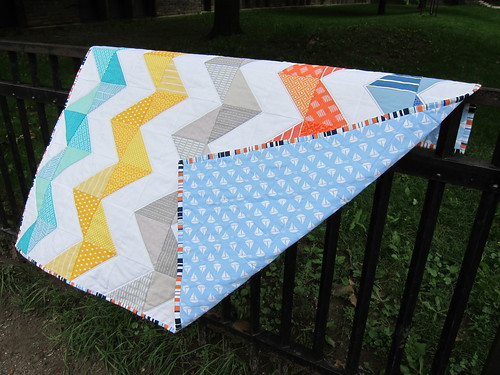 Tacking - A Ziggy Baby Quilt