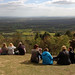 Sitting on top of Leith Hill