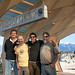 The owners of Taos Mesa Brewing (from left: Peter Kolshorn, Gary Feuerman, Daniel Irion and Jayson Wylie). Photo credit: Dominique Revelle