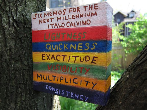Six Memos for the Next Millennium by Italo Calvino | by Art by Timothy L. Campbell
