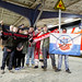 Cottbuser football club fans