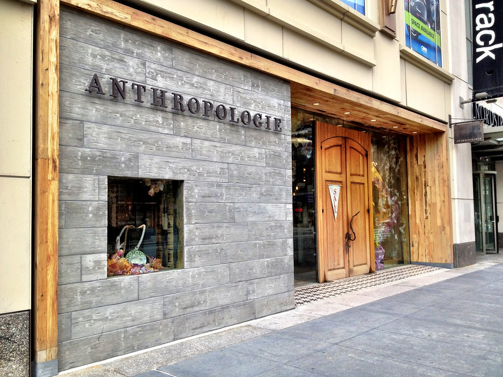 anthropologie storefront chicago curtis redel flickr. Black Bedroom Furniture Sets. Home Design Ideas