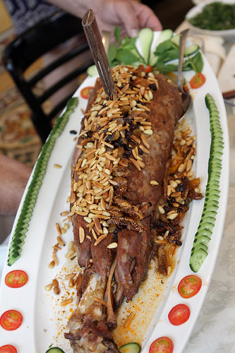 leg of lamb with dried fruits | by David Lebovitz