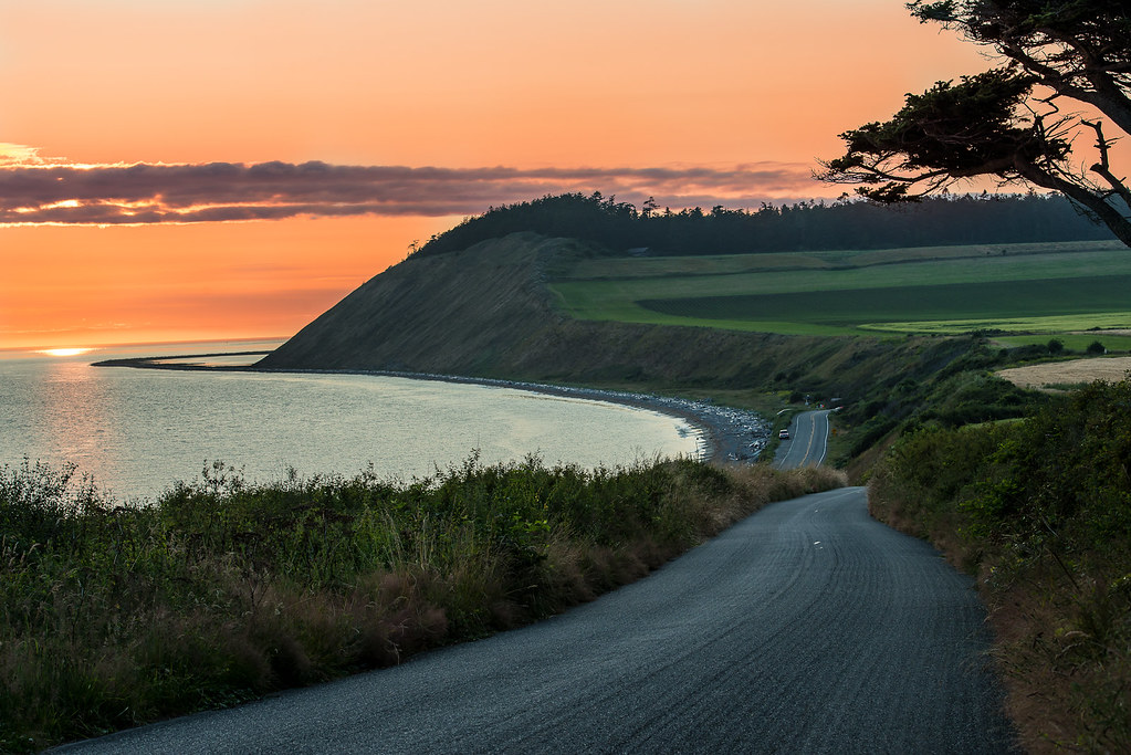 Sunset at Ebey's Landing | It was an interesting sunset as ...
