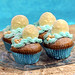 Sanddollar Beach Cupcakes