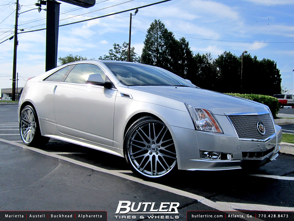 Cadillac Cts Coupe With 22in Lexani Cvx44 Wheels