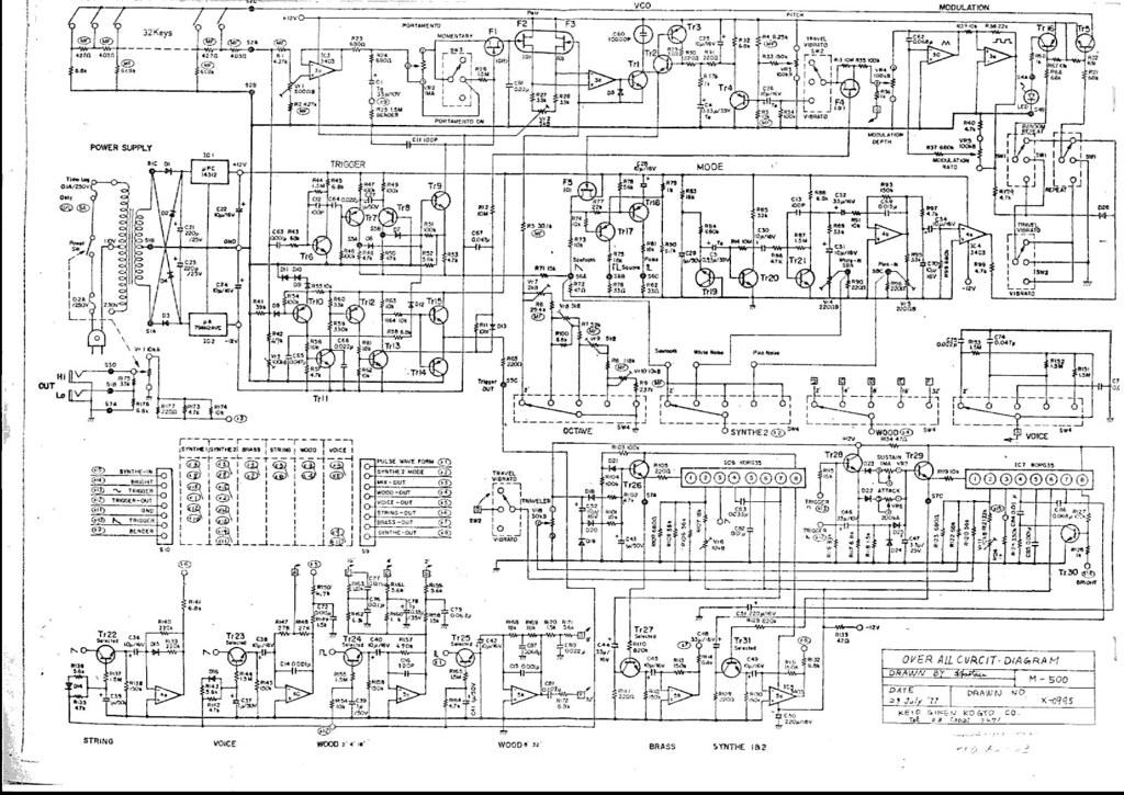 korg micropreset schematic