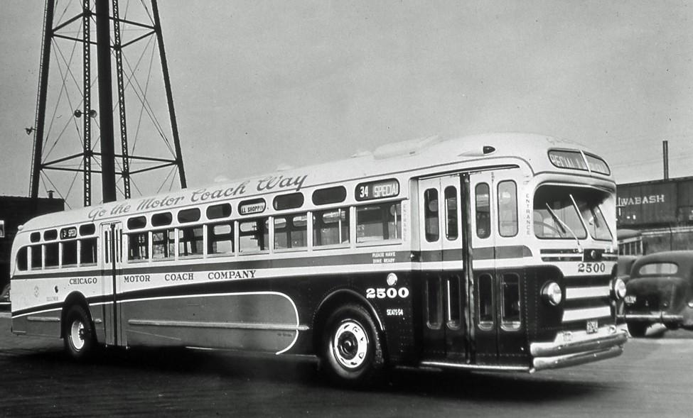 Chicago Motor Coach Company No 2500 Td 5401 2500