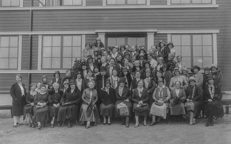 PEM-LTH-00090 Høyrekvinners Landsmøte i Trondhjem i 1930