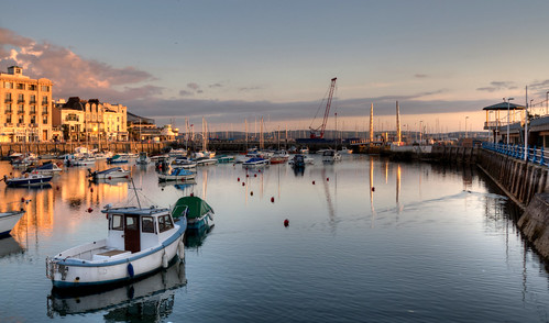 Golden Hour Torquay Harbour | by rosiespoonerphotos