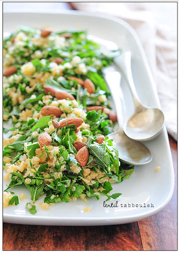 lentil tabbouleh | by jules:stonesoup