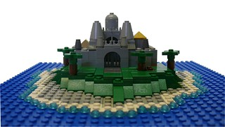 Island Castle Micro-scale (2) | by Noah_L
