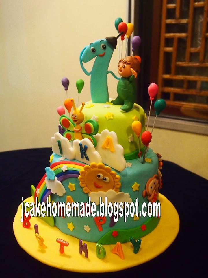Cake Design Baby Tv : Baby TV birthday cake Happy 1st birthday Mika. Thanks ...