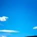 Blue skies over Machen.
