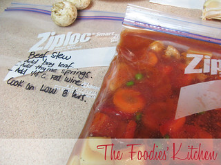 Freezer Meals: Beef & Vegetable Goulash | by The Foodies' Kitchen