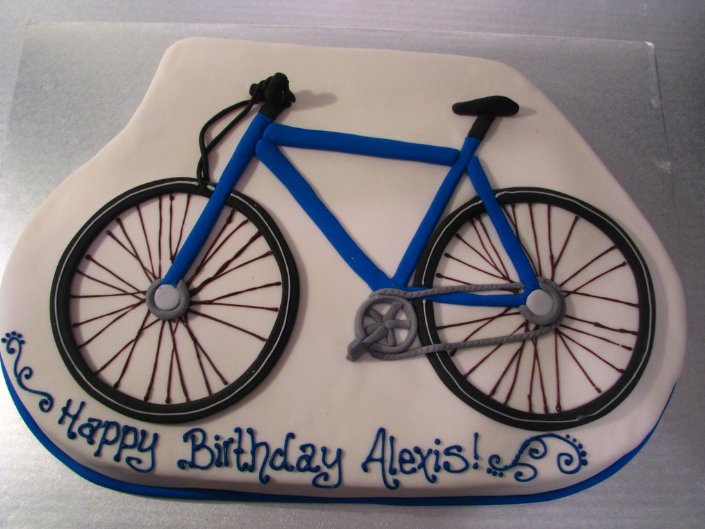 Bicycle Cake Pan