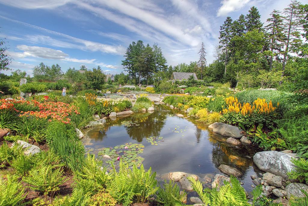 Coastal Maine Botanical Gardens Milfodd Flickr