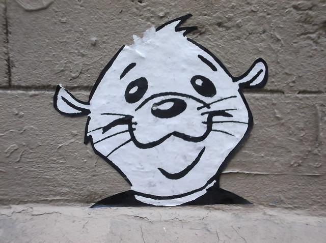 Wheatpaste Graffiti | Paris, France. August 2011. | By ...