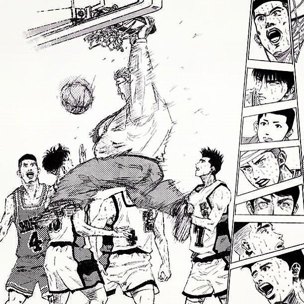 Manga Anime List Slam Dunk Interhigh: You The Bomb Coach Anzai! #SlamDunk #SuramoDunko #Sakuragi