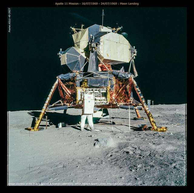 Apollo 11 Mission - 16 07 1969 - 24 07 1969   Moon LandingMoon Landing Pictures 1969