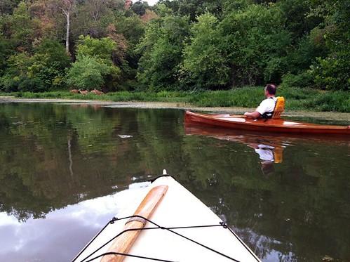 Kayak Jame River/Springfield Lake 7-29-2012