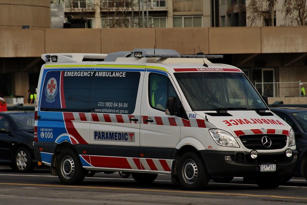 Mercedes Benz Sprinter >> Ambulance Victoria #6183 | Ambulance Victoria #6183 Mercedes… | Flickr