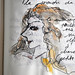 Griffons - Page de Carnet Moleskine